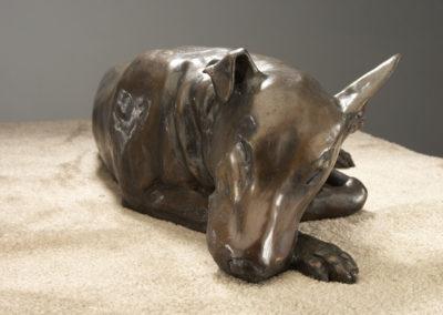 """Bear"" Bronze Life size"