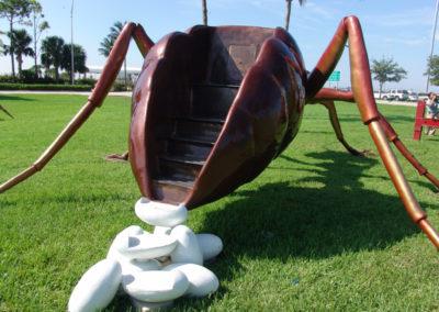 """Queen Ant Bronze, 2006 84""""h x 235""""w x 288""""d 2"""